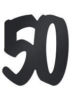 50  Foil Silhouette