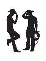 Cowboy Silhouettes