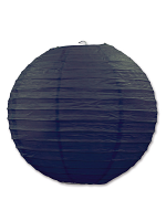 Paper Lanterns (Pack Of 3) - Black