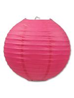 Paper Lanterns (Pack Of 3) - Cerise