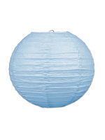 Paper Lanterns (Pack Of 3) - Light Blue
