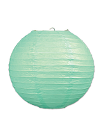 Paper Lanterns (Pack Of 3) - Mint Green