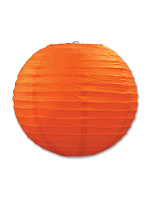 Paper Lanterns (Pack Of 3) - Orange