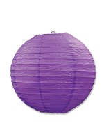 Paper Lanterns (Pack Of 3) - Purple