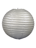 Paper Lanterns (Pack Of 3) - Silver