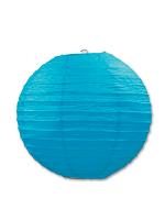 Paper Lanterns (Pack Of 3) - Turquoise