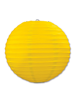 Paper Lanterns (Pack Of 3) - Yellow