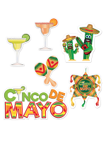 Cinco De Mayo Cutouts