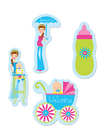 Showers Of Joy Cutouts