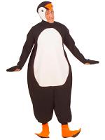 Penguin Costume (Jumpsuit Headpiece W/Mask Paws)