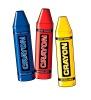 Crayon Cutouts (3/pkg)