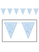 It's A Boy! Pennant Banner