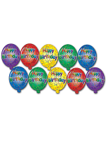 Mini Happy Birthday Cutouts