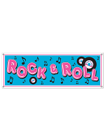 Rock & Roll Sign Banner