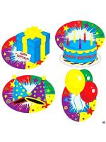Happy Birthday Cutouts
