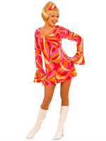 70S CHICK - ORANGE (DRESS HEADBAND)