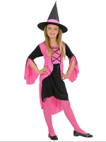 Pink Witch Costume