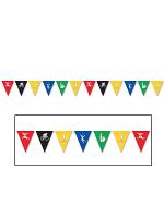 Summer Sports Pennant Banner