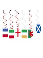 Six Nations Hanging Swirl Decoration