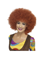 60'S Afro Wig - Auburn