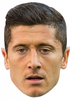 Robert Lewandowski Mask (World Cup 2018)