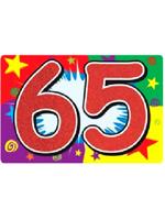 65 Glittered Sign
