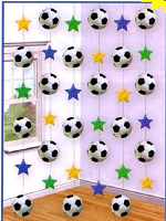 Football Hanging String Decoration