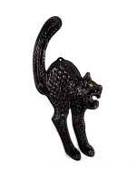 3D Black Cats W/Gid Eyes