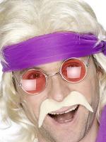 70's Blonde Moustache