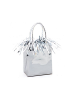 Balloon Weight Mini Handbag Silver