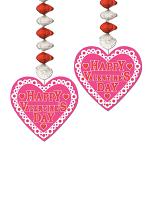 "Valentine Danglers 30"""