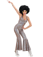 HOLOGRAPHIC 70S DANCING QUEEN (JUMPSUIT)