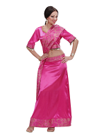 Bollywood dancer (top skirt sash)