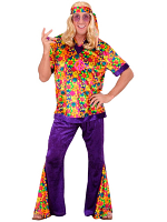 VELVET HIPPIE DUDE (SHIRT PANTS HEADBAND)