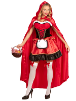 Red Riding Hood (Dress Hooded Cape)