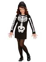 Glam Skeleton Girl Costume