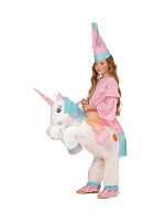 Unicorn - Child (Airblown Inflatable Unicorn With Hat)