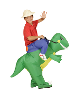 Dinosaur - Child (Airblown Inflatable Costume With Hat)