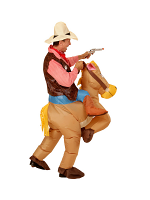 Horse - Adult (Airblown Inflatable Costume Hat)