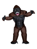 Gorilla (Airblown Inflatable Oversized Costume W/ Mask)