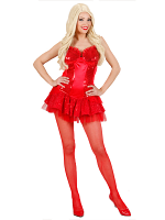 RED SEQUIN CORSET