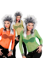 Neon Fishnet Shirt (Green/Orange/Yellow)