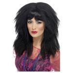 80'S Trademark Crimp Wig,Black