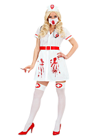 Infected Bloody Nurse (Dress Belt Hat Mask Steth)
