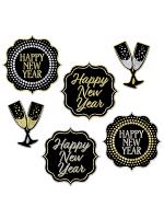 New Year Cutouts