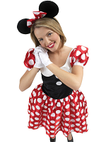 Minnie Mouse Licensed Costume