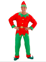 Santas Little Helper Elf Man