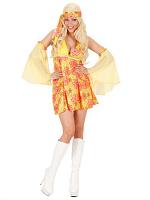 70S GIRL - YELLOW (DRESS SLEEVES)