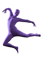 Purple Morphsuit Costume