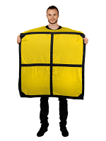 Adult Tetris O Yellow Morph Costume